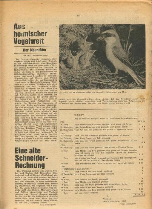 Der Grafschafter , Folge 181, März 1968  --  siehe Foto !!   (0) 2