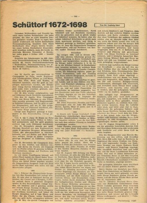 Der Grafschafter , Folge 182, April 1968  --  siehe Foto !!   (0) 6