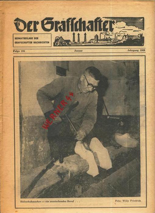 Der Grafschafter , Folge 191, Januar 1969  --  siehe Foto !!   (0) 0