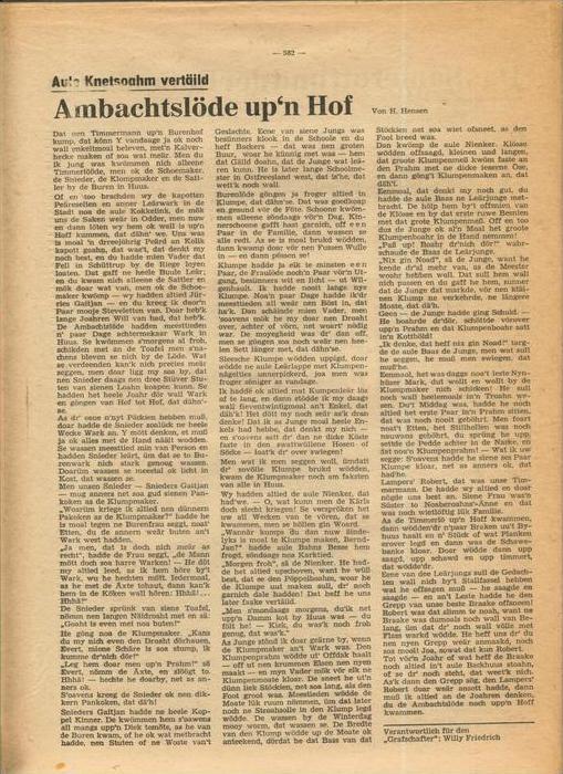 Der Grafschafter , Folge 191, Januar 1969  --  siehe Foto !!   (0) 6