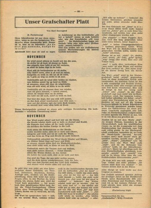 Der Grafschafter , Folge 192, Februar 1969  --  siehe Foto !!   (0) 2
