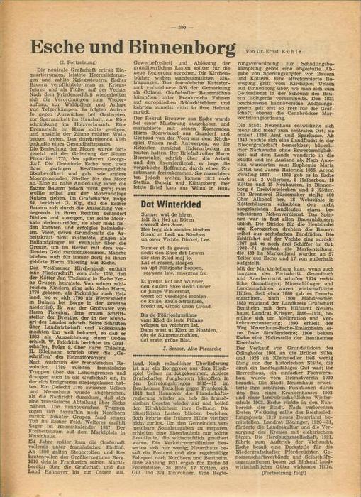 Der Grafschafter , Folge 192, Februar 1969  --  siehe Foto !!   (0) 5