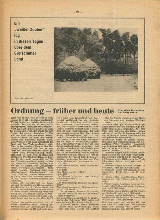 Der Grafschafter , Folge 192, Februar 1969  --  siehe Foto !!   (0) 6