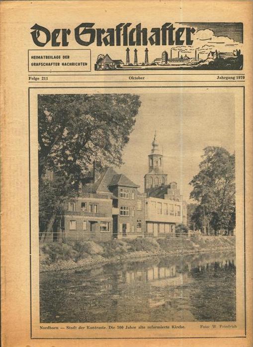 Der Grafschafter , Folge 211, Oktober 1970  --  siehe Foto !!   (0) 0
