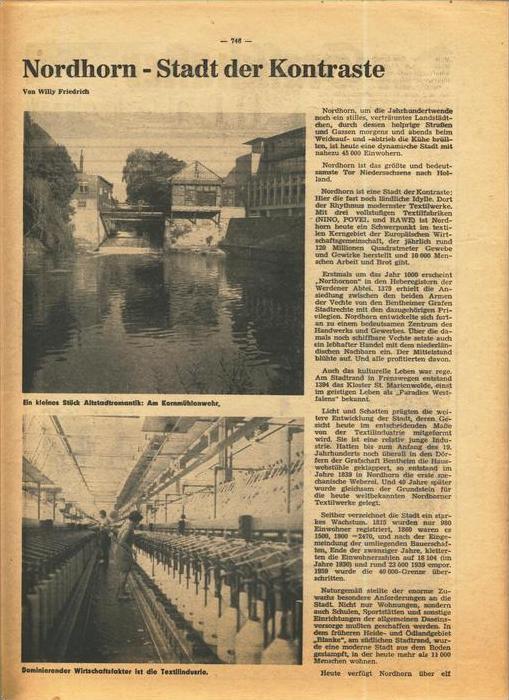Der Grafschafter , Folge 211, Oktober 1970  --  siehe Foto !!   (0) 3