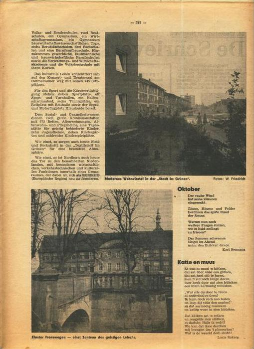 Der Grafschafter , Folge 211, Oktober 1970  --  siehe Foto !!   (0) 4