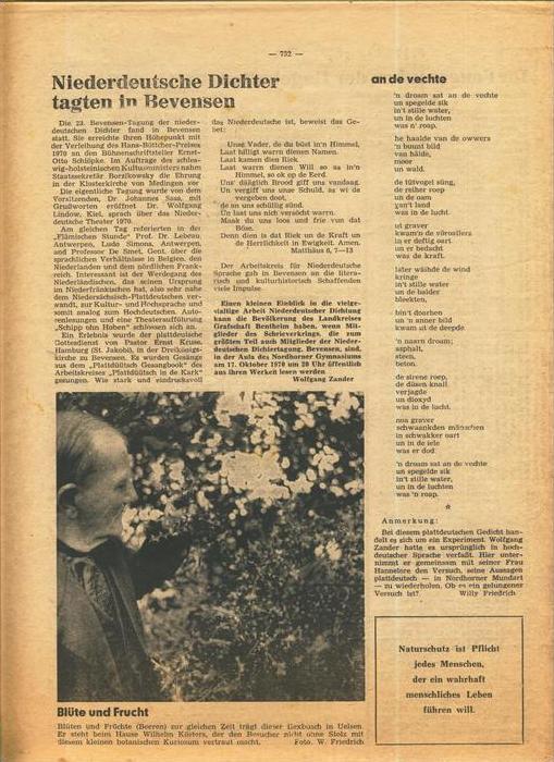 Der Grafschafter , Folge 211, Oktober 1970  --  siehe Foto !!   (0) 6