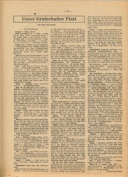 Der Grafschafter , Folge 212, Dezember 1970  --  siehe Foto !!   (0) 3