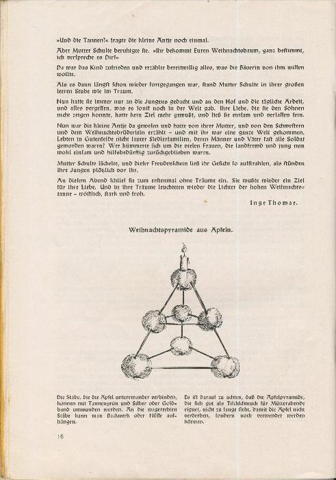 Rundbrief für Kindergärtnerinnen v. 1939   Heft 4  - siehe Foto !!  (ohne) 4