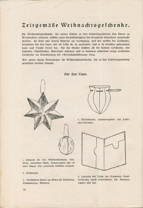 Rundbrief für Kindergärtnerinnen v. 1939   Heft 4  - siehe Foto !!  (ohne) 5