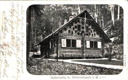 Dittersbach v.1902 Balzhütte (16415) 0