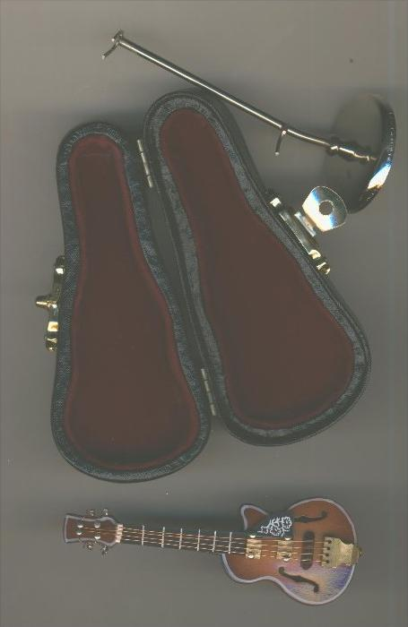 Miniaturen-Musikinstrumen te v. 1988
