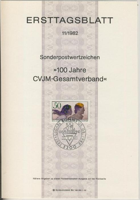 BRD - ETB (Ersttagsblatt) 11/1982 0