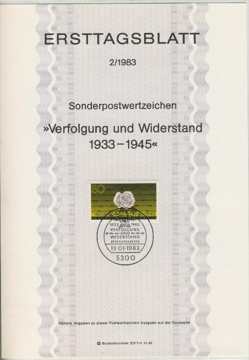 BRD - ETB (Ersttagsblatt) 2/1983 0