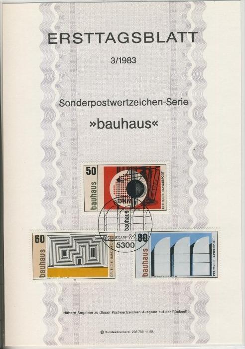 BRD - ETB (Ersttagsblatt) 3/1983 0