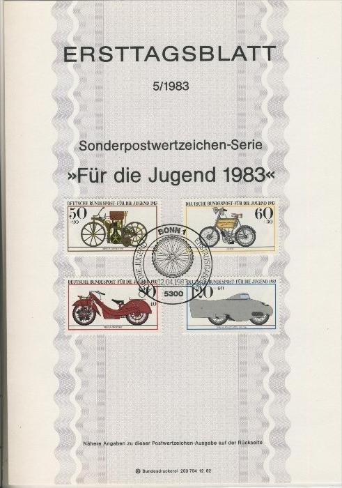 BRD - ETB (Ersttagsblatt) 5/1983 0