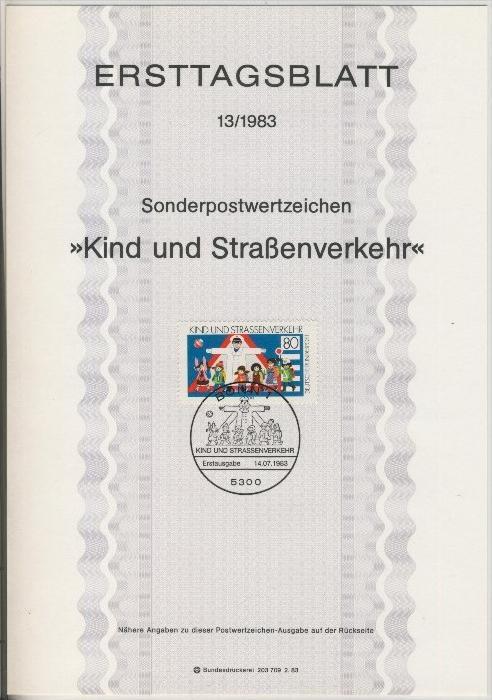 BRD - ETB (Ersttagsblatt) 13/1983