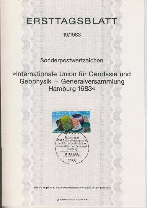 BRD - ETB (Ersttagsblatt) 19/1983 0