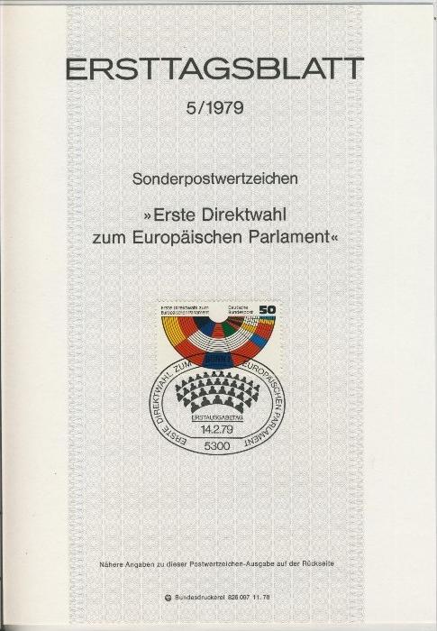 BRD - ETB (Ersttagsblatt) 5/1979 0