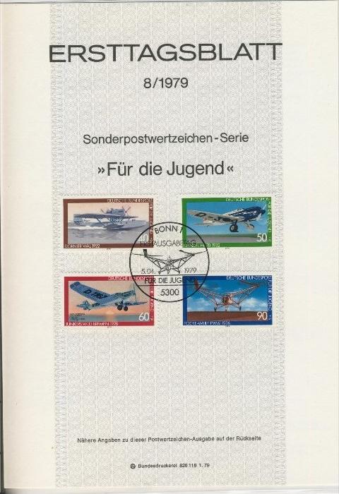 BRD - ETB (Ersttagsblatt) 8/1979 0