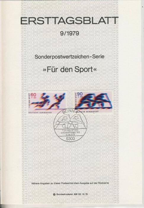 BRD - ETB (Ersttagsblatt) 9/1979 0