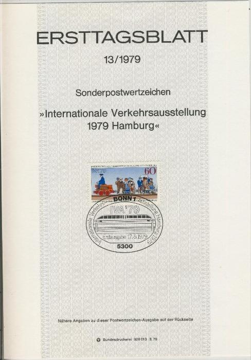 BRD - ETB (Ersttagsblatt) 13/1979 0