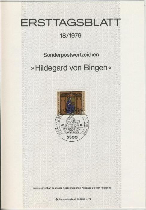 BRD - ETB (Ersttagsblatt) 18/1979 0