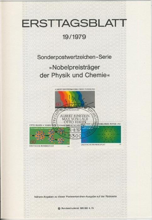BRD - ETB (Ersttagsblatt) 19/1979 0