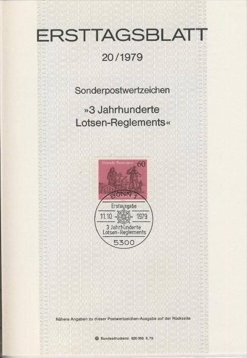 BRD - ETB (Ersttagsblatt) 20/1979 0
