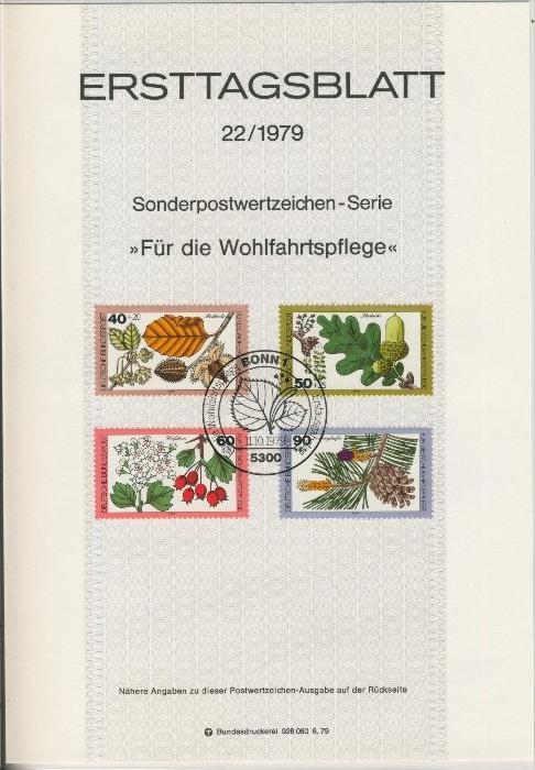 BRD - ETB (Ersttagsblatt) 22/1979 0