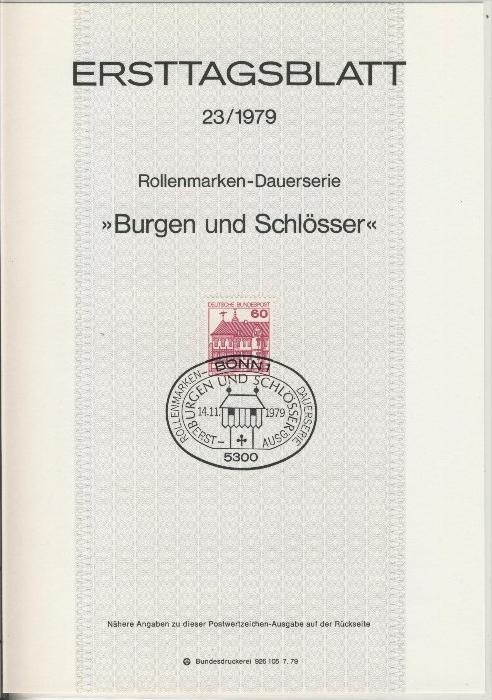 BRD - ETB (Ersttagsblatt) 23/1979 0