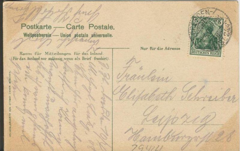 Dresden v. 1908  Neumarkt mit der Frauenkirche  ()  --  siehe Foto !!  (29424) 1