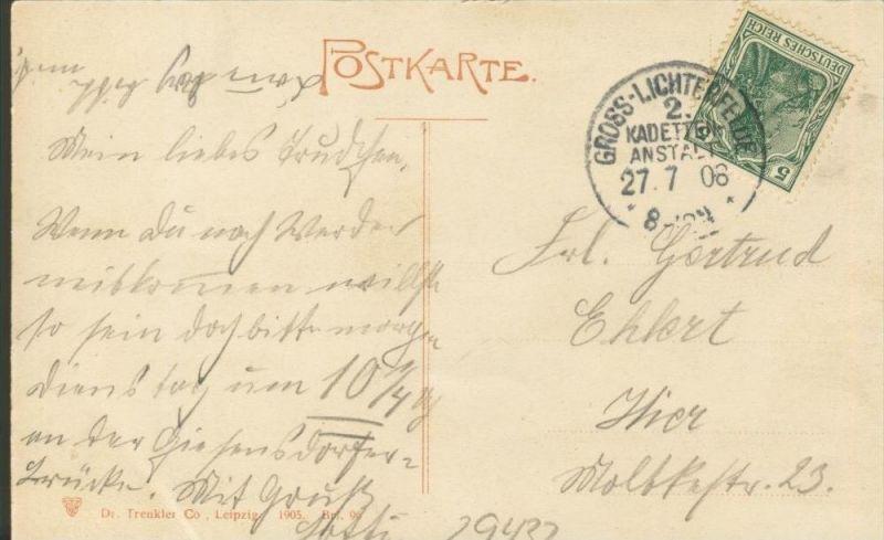 Berlin v. 1908  Neuer Dom mit Strasse und Kutschen  ()  --  siehe Foto !!  (29432) 1