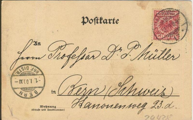 Gruss aus Hamburg v. 1899  Alte Speicher a. Fleth,Mattenwiete   ()  --  siehe Foto !!  (29438) 1
