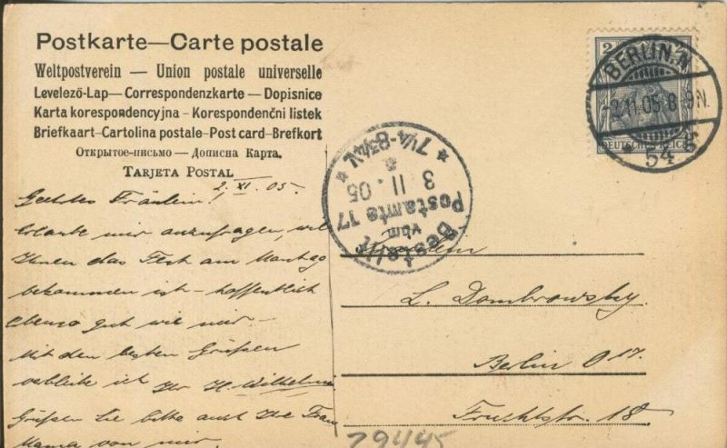 Berlin v. 1905  Bauerngehöft nähe Berlin  ()  --  siehe Foto !!  (29445) 1