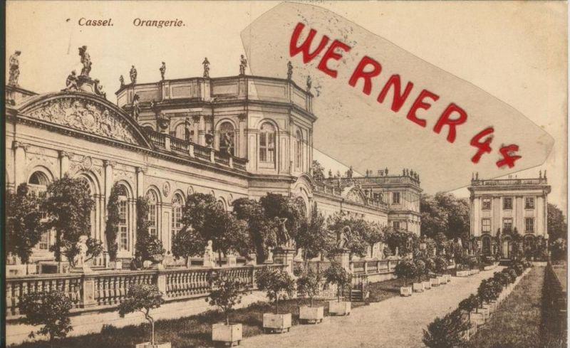Cassel v. 1916  Orangerie  ()  --  siehe Foto !!  (29448) 0