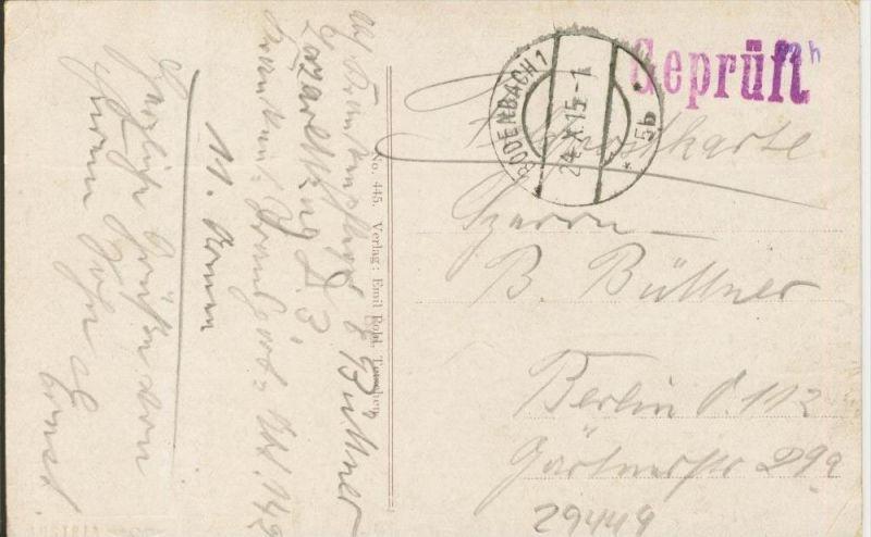Bodenbach v. 1915  7 Stadt-Ansichten  ()  --  siehe Foto !!  (29449) 1