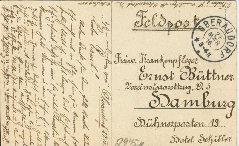 Oberaudorf v. 1916  Brünnsteinhaus mit Gipfel  ()  --  siehe Foto !!  (29451) 1