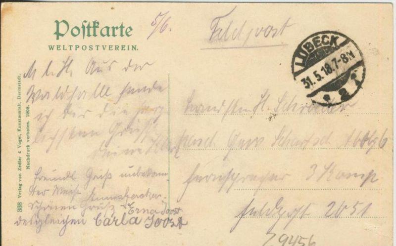 Bad Schwartau v. 1918  Waldpartie  ()  --  siehe Foto !!  (29456) 1