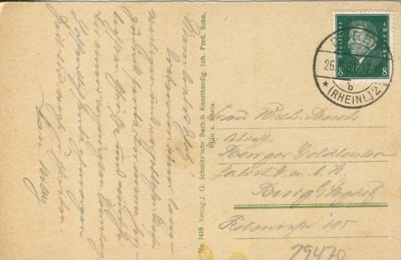 Köln v. 1931  Deutscher Ring  ()  --  siehe Foto !!  (29470) 1