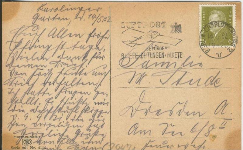 Berlin-Charlottenburg v. 1932  Bauernhof  ()  --  siehe Foto !!  (29471) 1