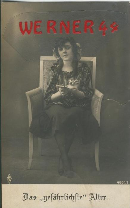 Das gefährlichste Alter v. 1919   ()  --  siehe Foto !!  (29489) 0