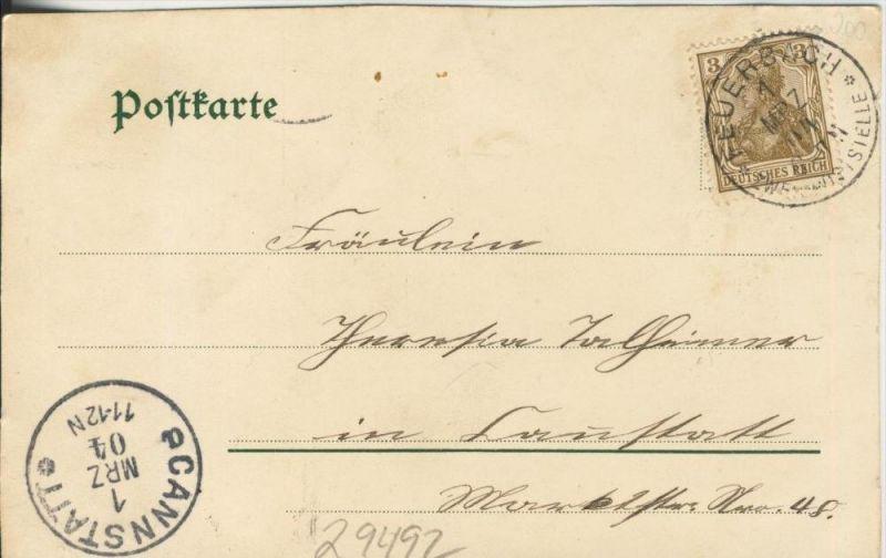 Paar auf dem Bergschlitten v. 1904   ()  --  siehe Foto !!  (29492) 1