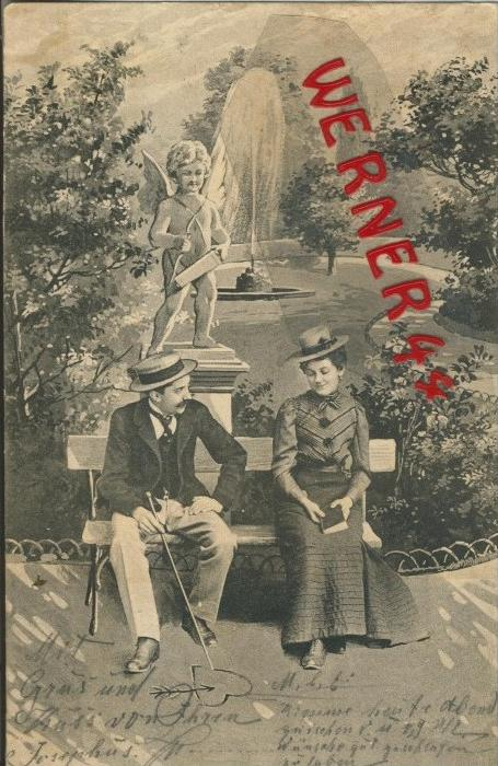 Verliebt v. 1903   ()  --  siehe Foto !!  (29495) 0