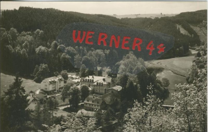 Walsburg bei Ziegenrück v. 1967  FDGB Heim