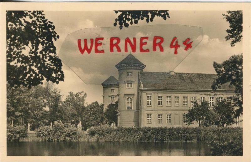 Rheinsberg v. 1959  Schloß - jetzt Sanatorium