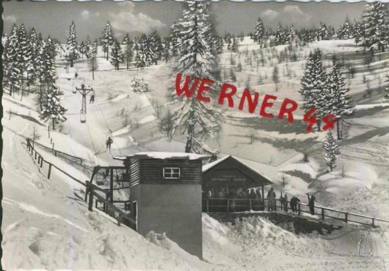 Gerlitzen v. 1969  Der Berglift 2  --  siehe Foto !!  (29802)