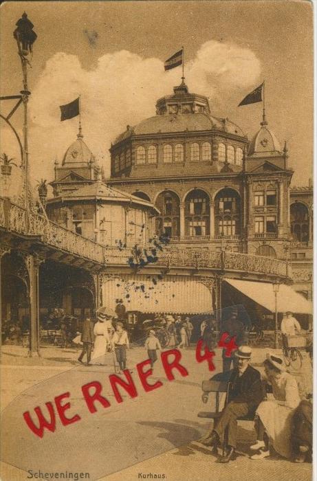 Scheveningen v. 1911  Das Kurhaus -- siehe Foto !!  (29873)