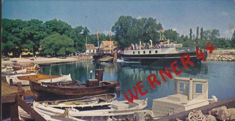 Havnen i Rorvig v. 1963  --  siehe Foto !!  (30194)
