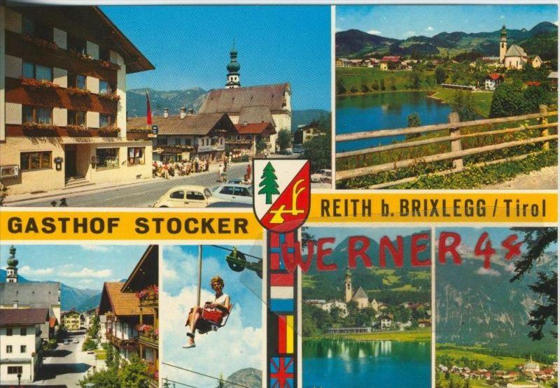 Reith b. Brixlegg v. 1968  Gasthof Stocker & Dorfansichten  --  siehe Foto !!  (30383)